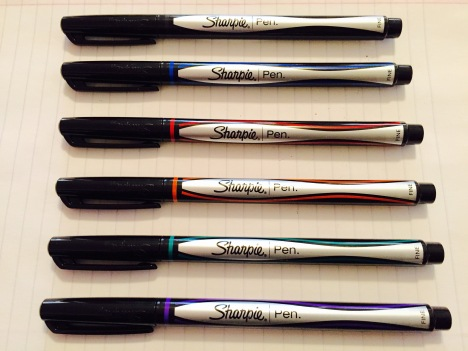 Sharpie Pen Colors