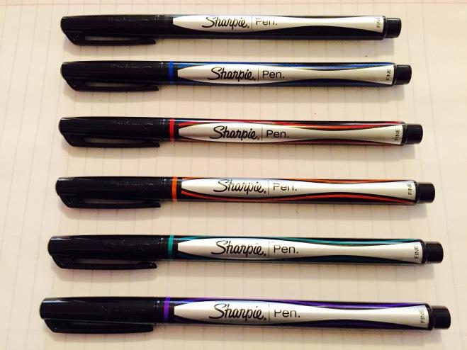 Sharpie Pen Colors