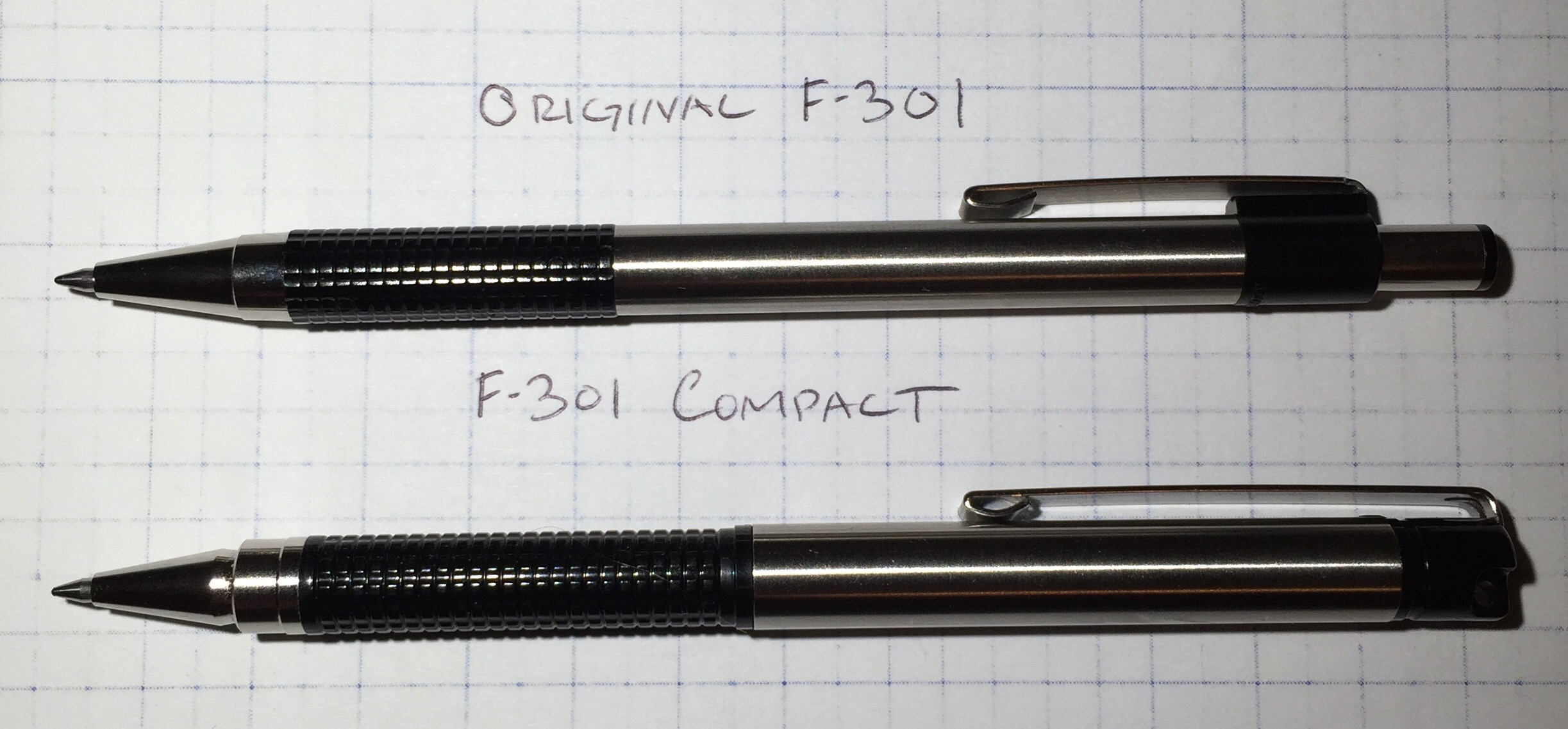 Review: Zebra F-301 Compact, Ballpoint Pen, 0.7mm
