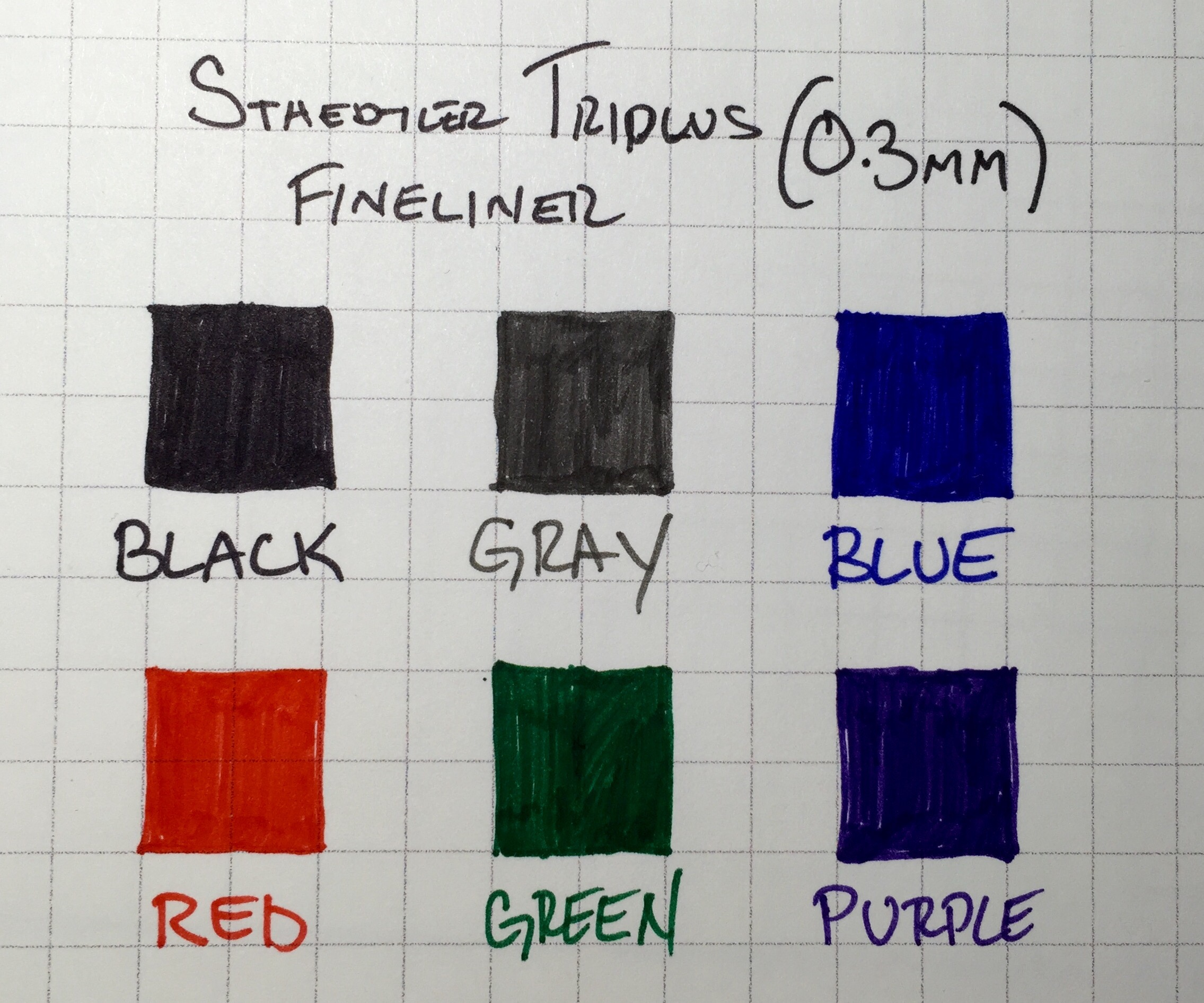 Purple Ink Pens And Junk Staedtler Triplus Color Fibre Tip Pen Sb 20 Its Also Worth Mentioning That Fineliners Are Dry Safe Which Means You Dont Have To Worry Too Much About Capping Uncapping These