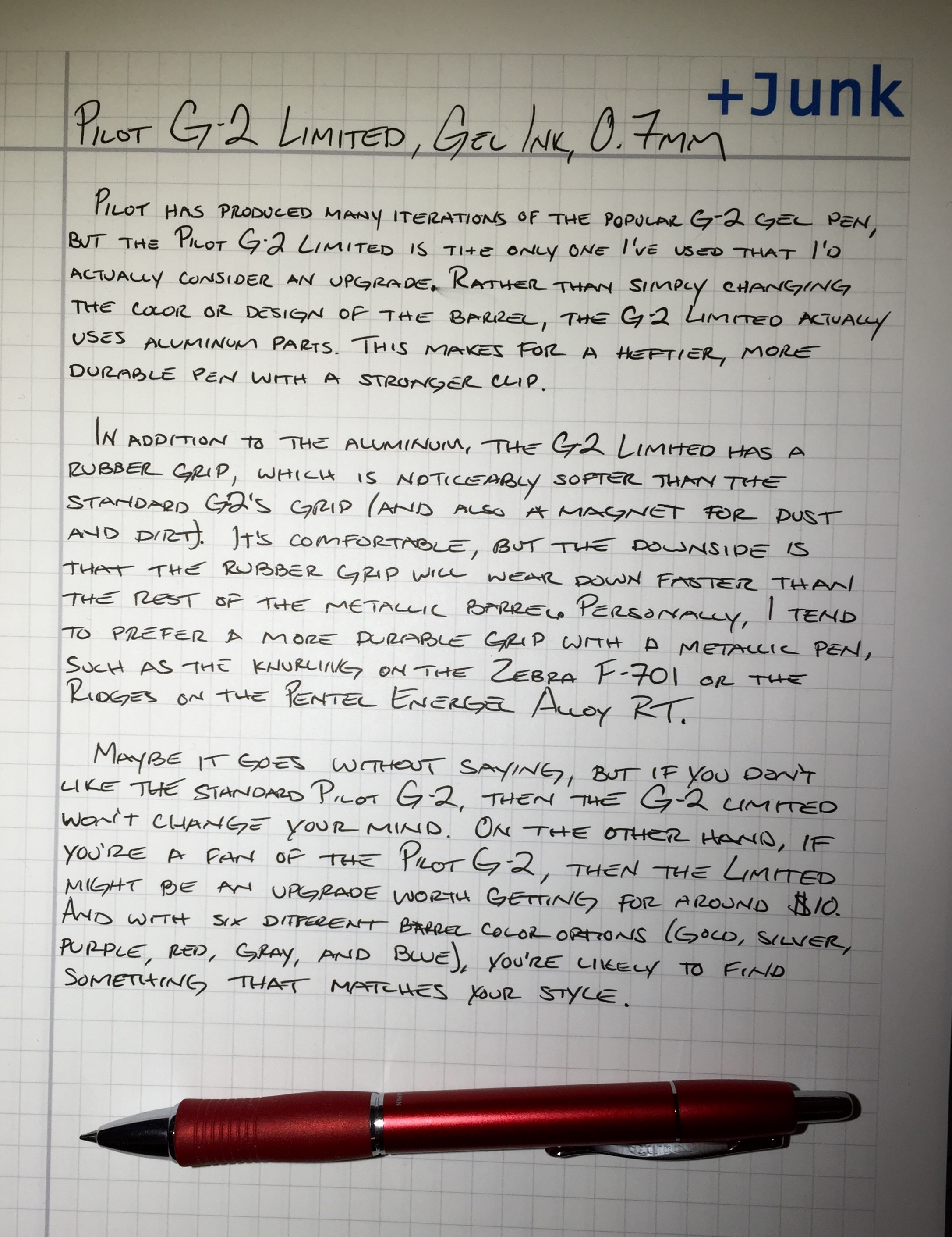 Gel Ink – Page 4 – Pens and Junk