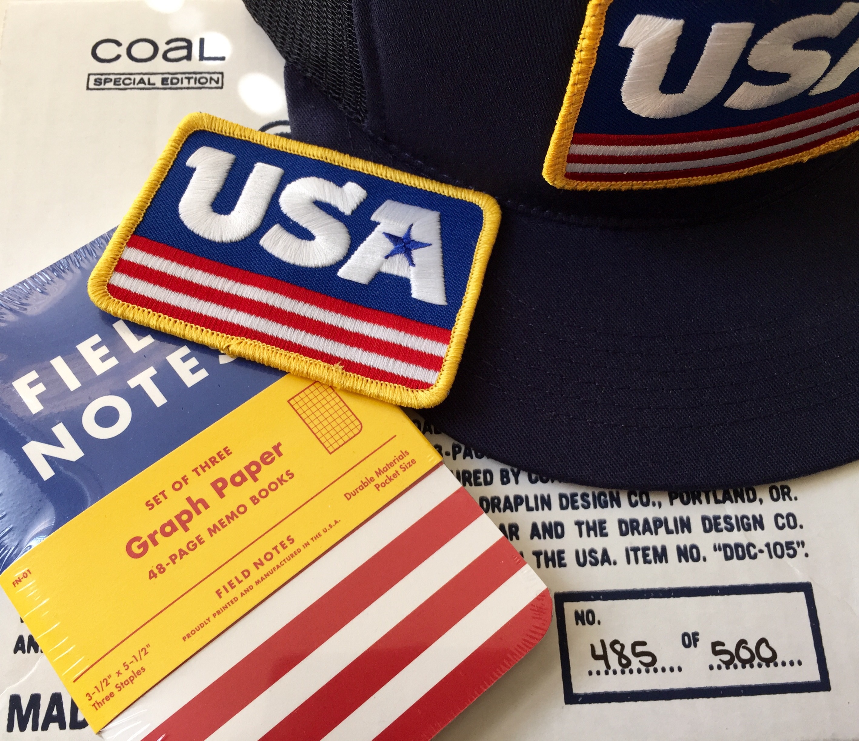 b1206e99dfc Notes on Coal x DDC x USA Field Notes – Pens and Junk