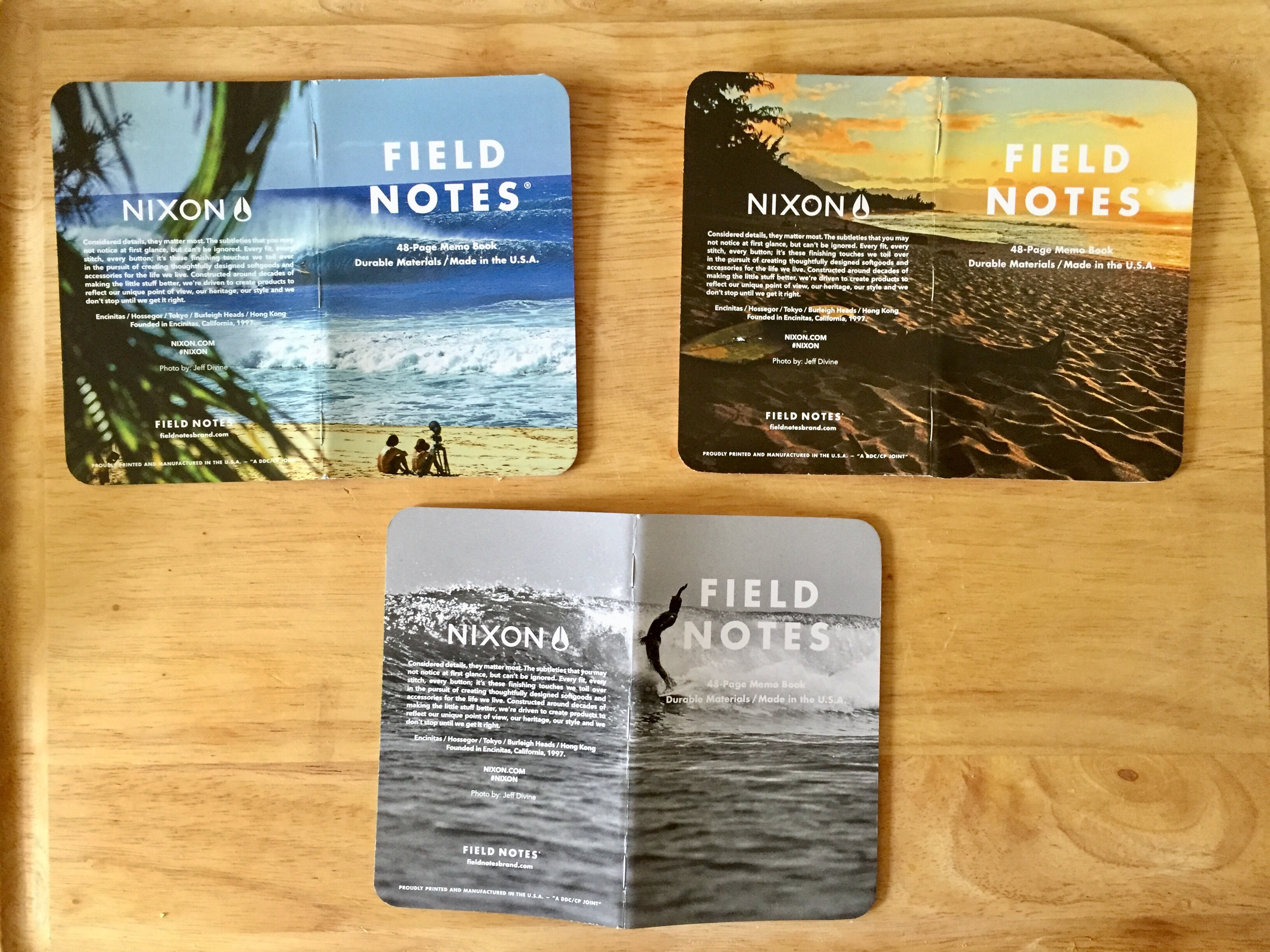 Notes on 2016 Nixon Field Notes Pens and Junk – Field Note