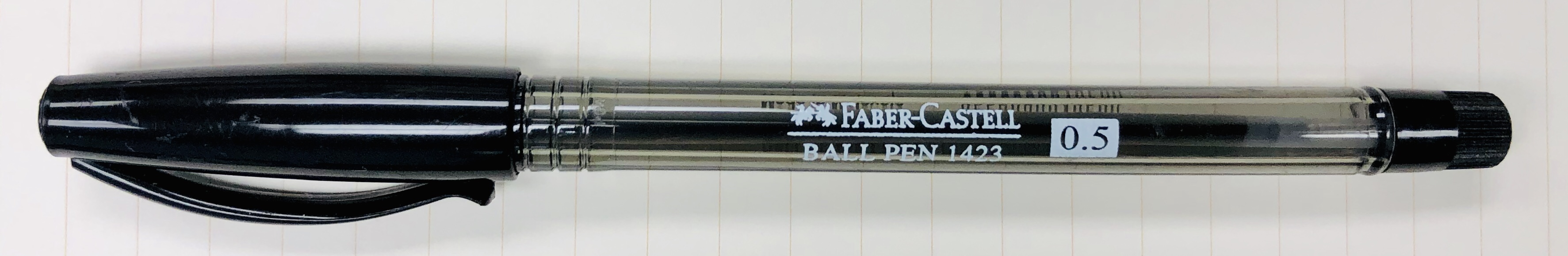 Review: Faber-Castell 1423, Ballpoint, 0.5mm